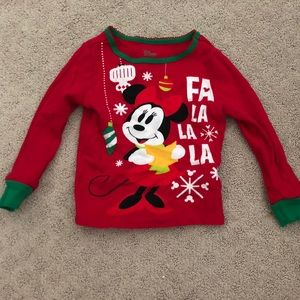 Disney Toddler Long Sleeve Minnie Mouse Christmas